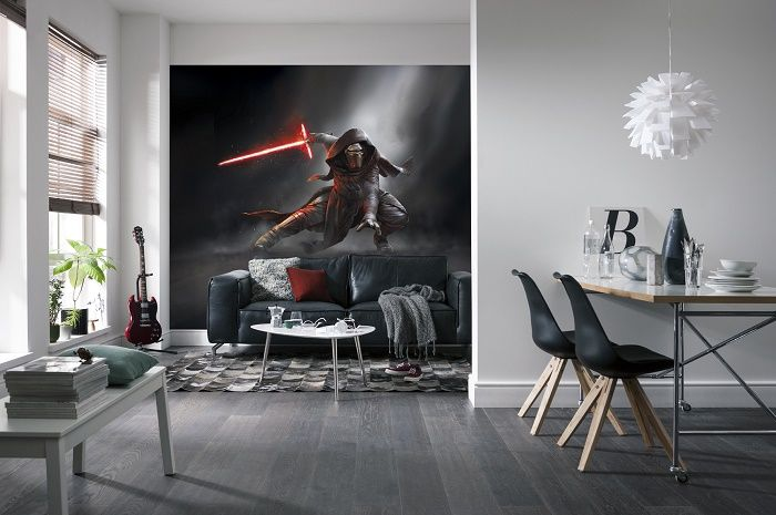 Wonderful Star Wars Kylo Ren Wall Mural Part 31